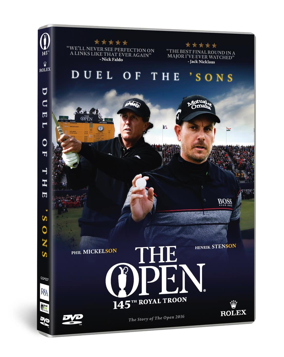 145th Royal Troon Duel of the 'Sons DVD