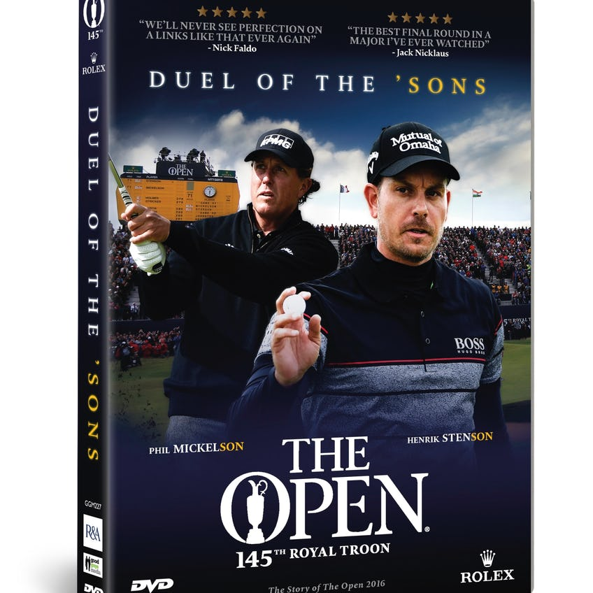 145th Royal Troon Duel of the 'Sons DVD (US)