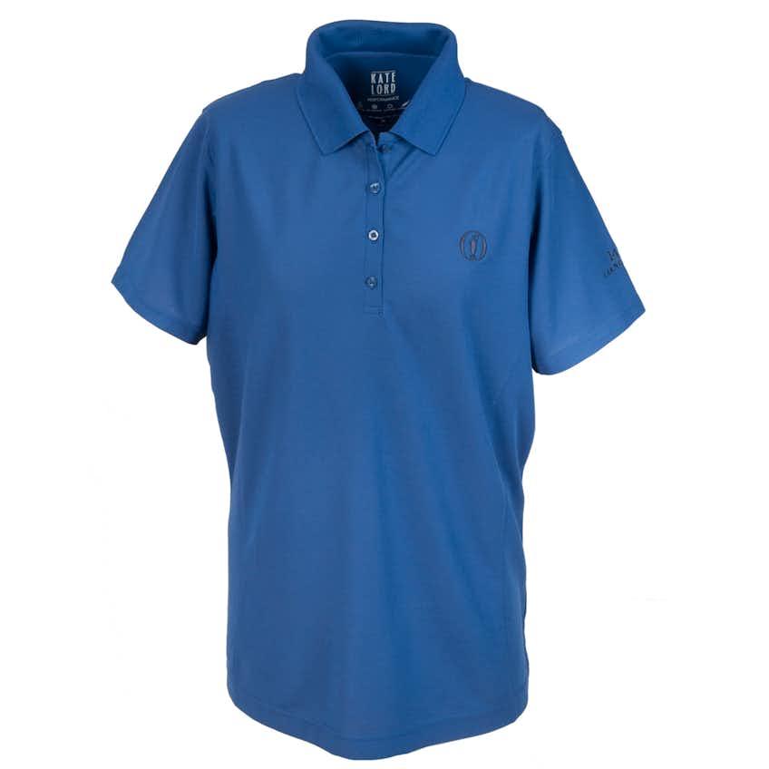 147th Carnoustie Plain Polo - Blue