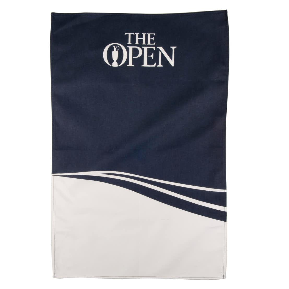 The Open Tea Towel - Blue and White