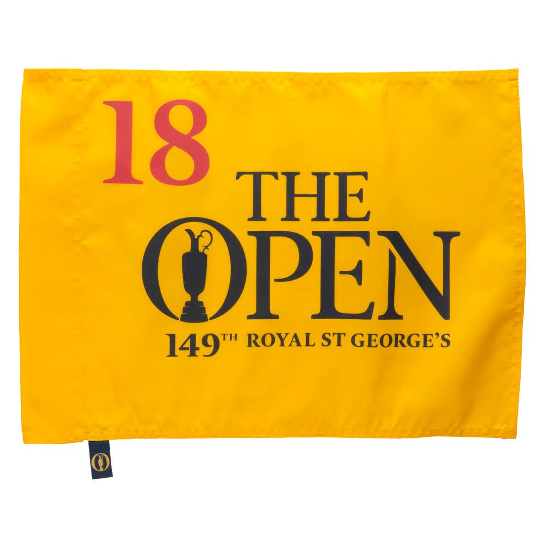 149th Royal St George's Pin Flag - Yellow
