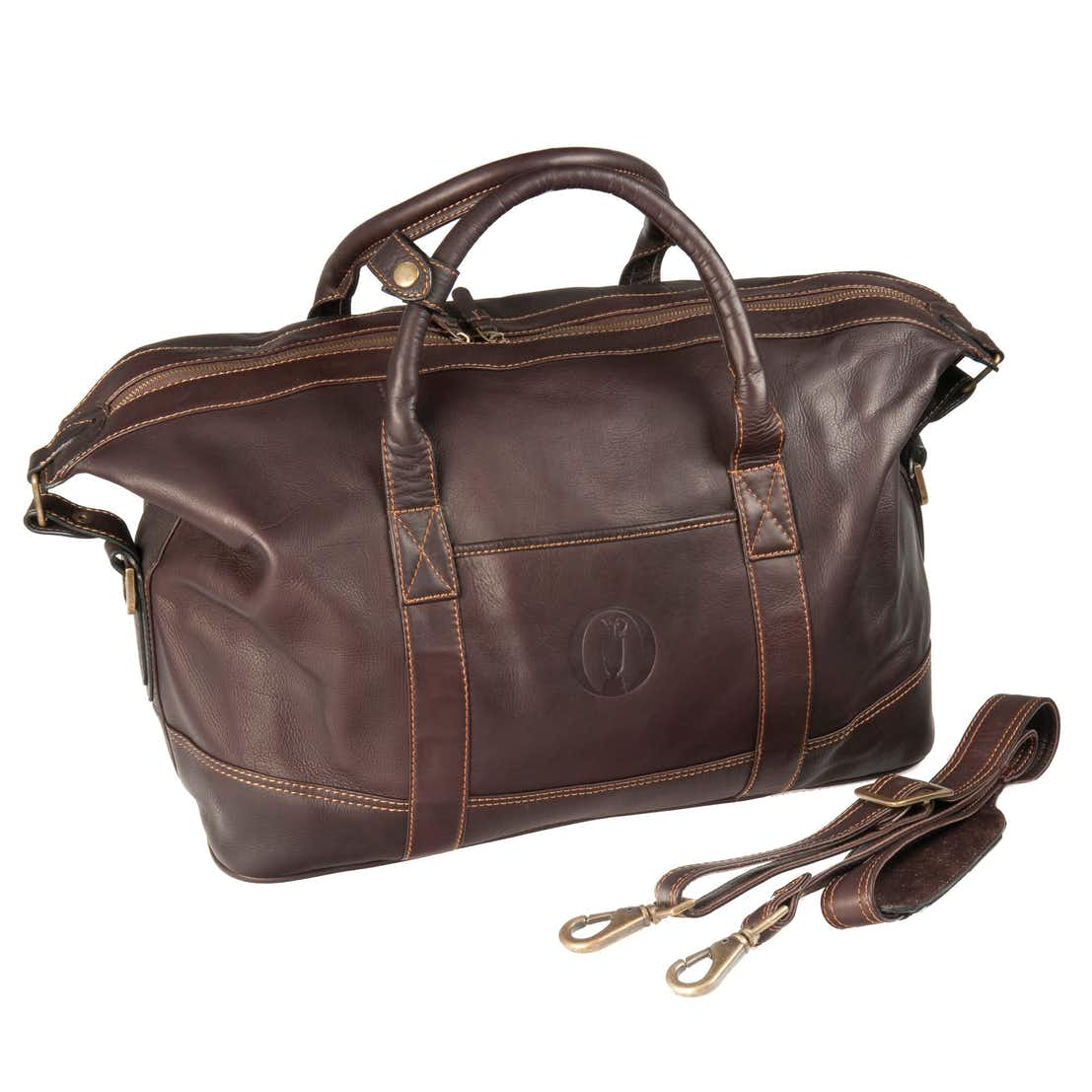 The Open Holdall Duffel Bag - Brown