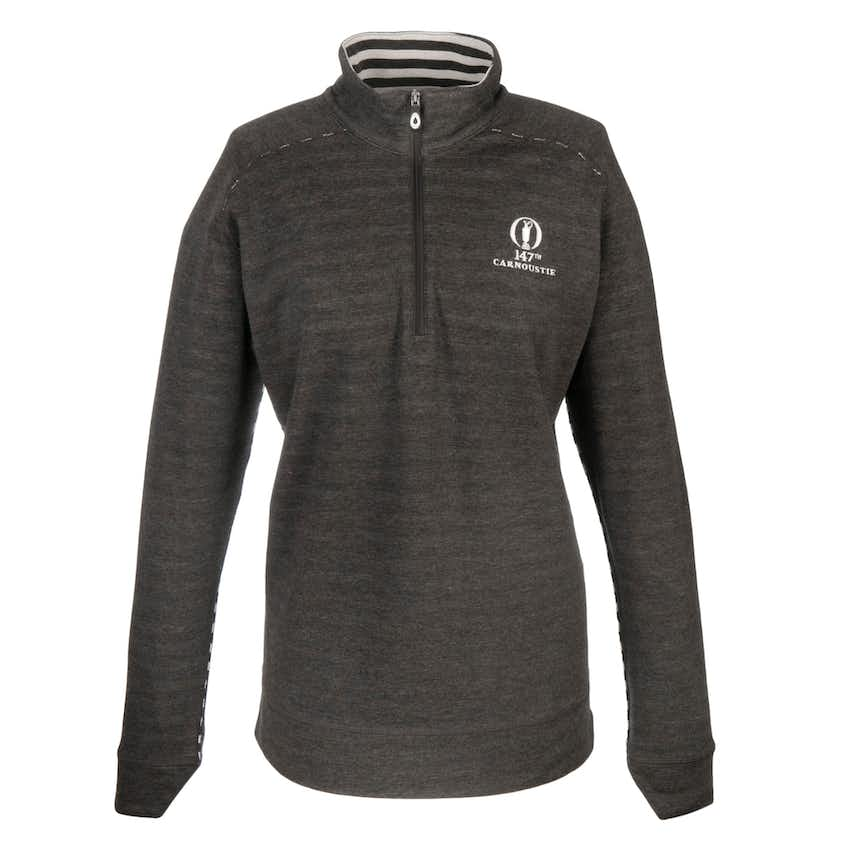 147th Carnoustie 1/2-Zip Pullover - Black