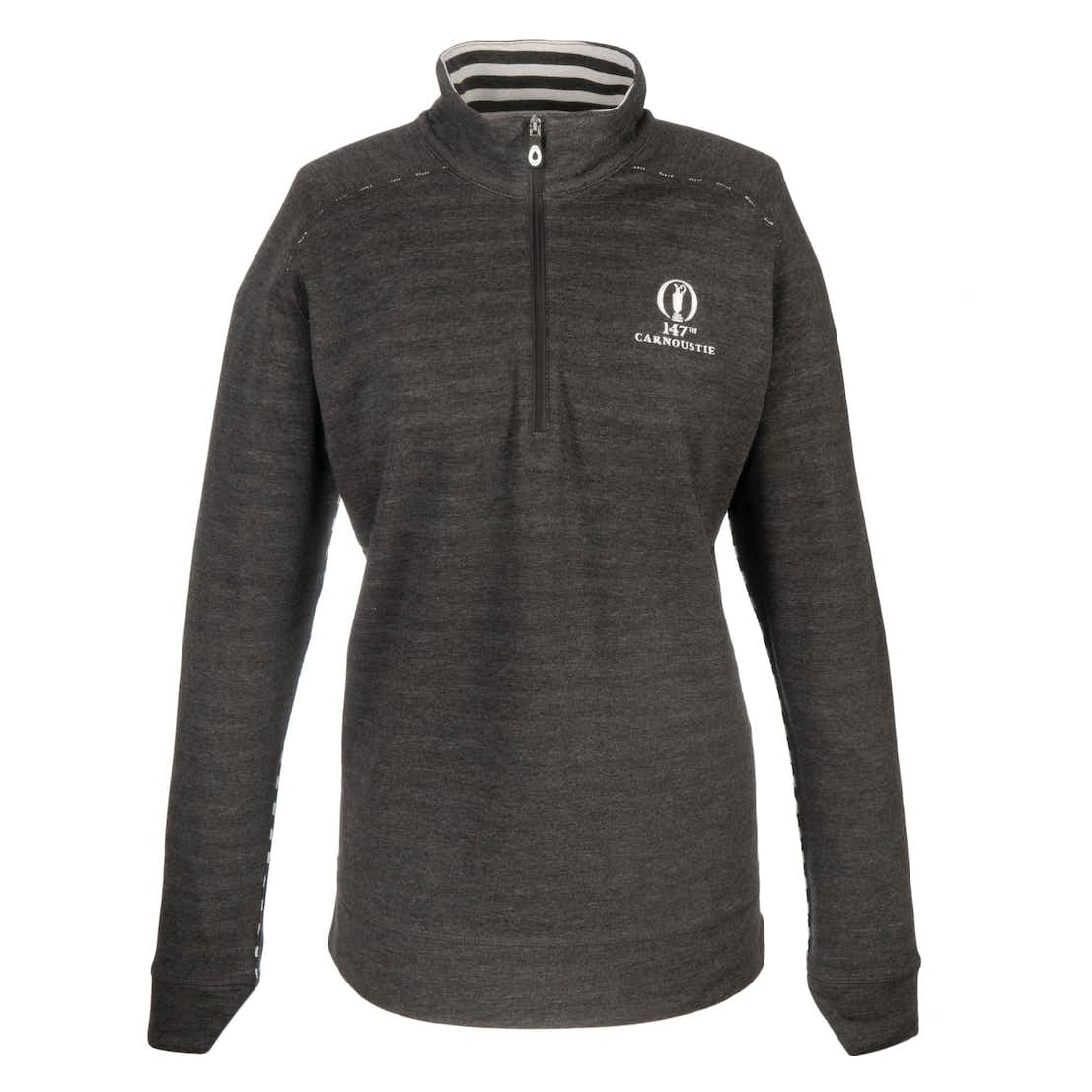 147th Carnoustie Kate Lord 1/2-Zip Pullover - Black