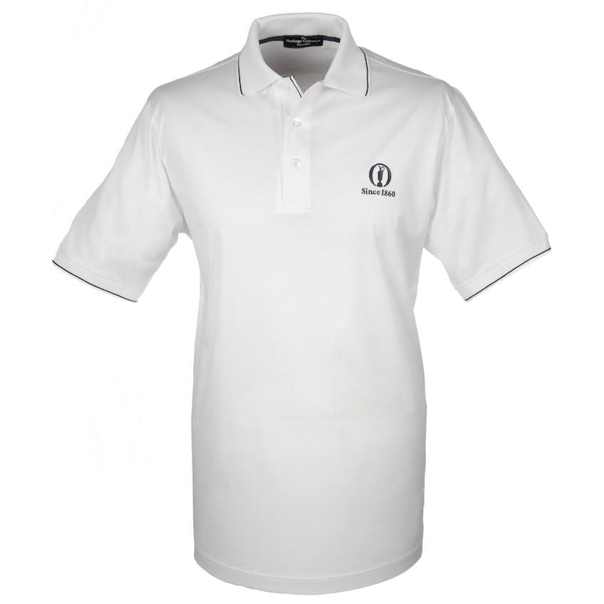 Heritage Since 1860 Plain Polo - White 0