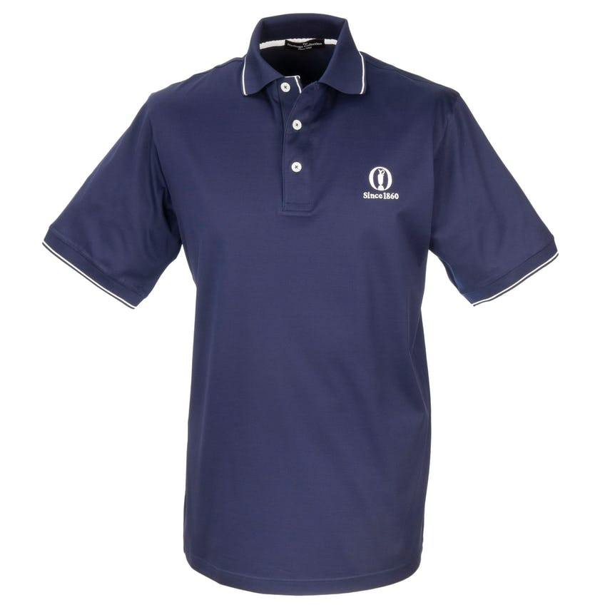 Heritage Since 1860 Plain Polo - Blue
