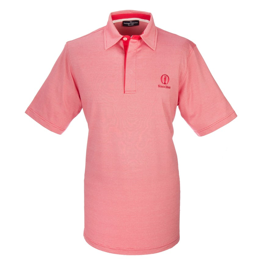 Heritage Since 1860 Plain Polo - Red