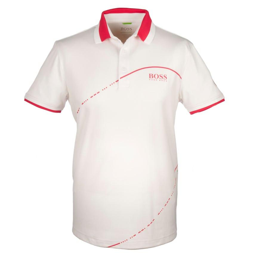 The Open BOSS Plain Polo - White 0