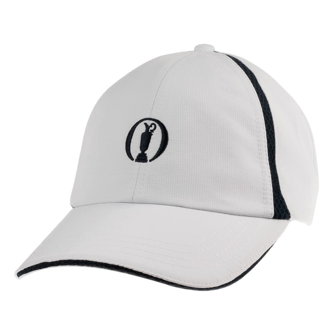 The Open Baseball Cap - White