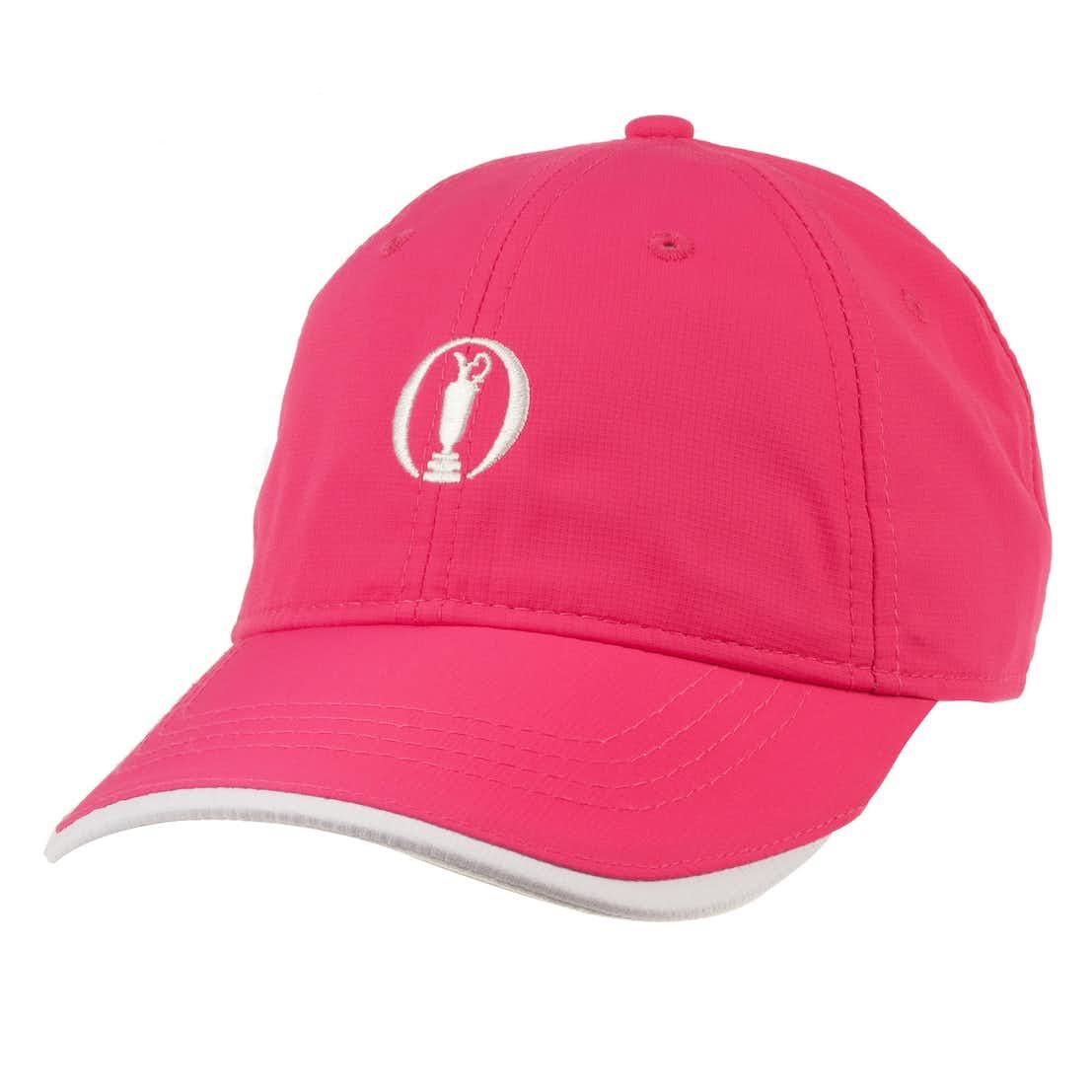 The Open Baseball Cap - Pink
