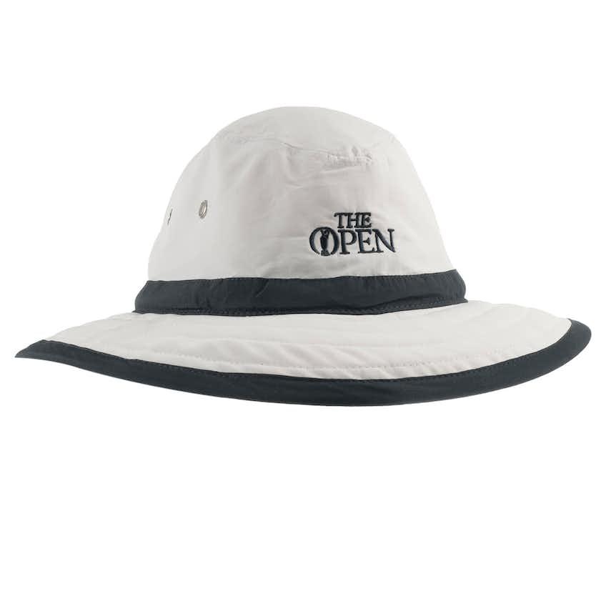 The Open Sun Hat - White