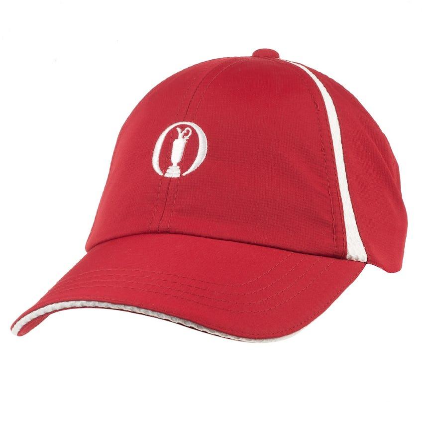 The Open Baseball Cap - Red 0