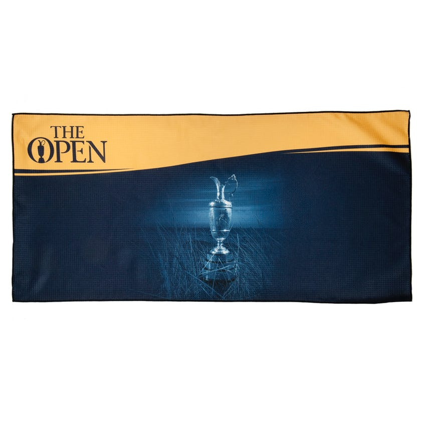 The Open Towel - Blue and Yellow