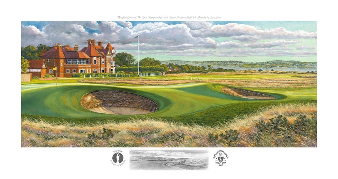 143rd Royal Liverpool Open Championship Lithograph Print