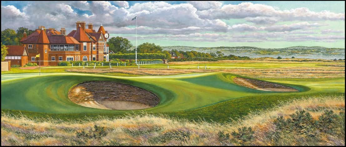 The 143rd Open at Royal Liverpool Canvas Print