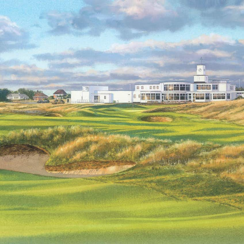 146th Royal Birkdale Open Championship Canvas Print