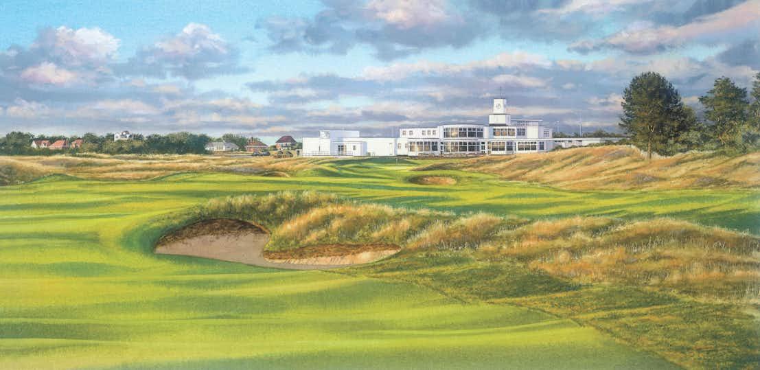 146th Royal Birkdale Open Championship Canvas Print