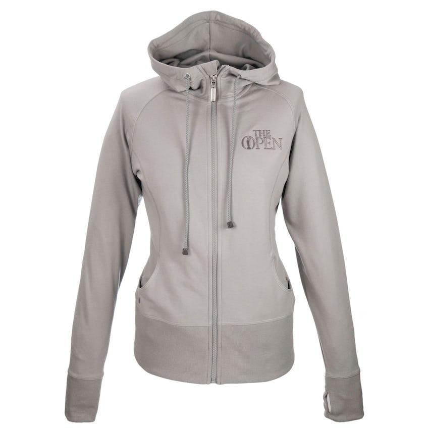147th Carnoustie Full-Zip Hoodie - Grey