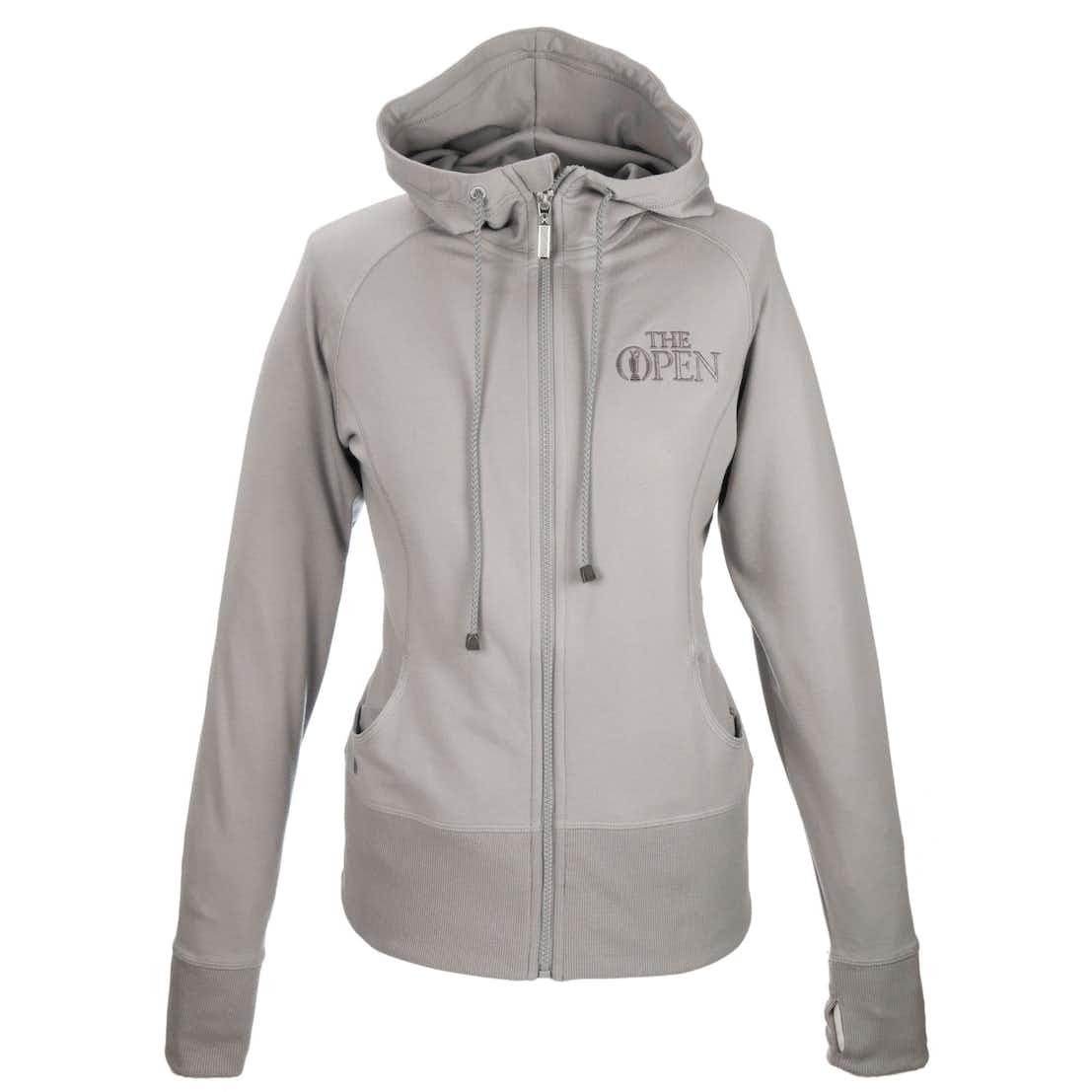 147th Carnoustie Kate Lord Full-Zip Hoodie - Grey