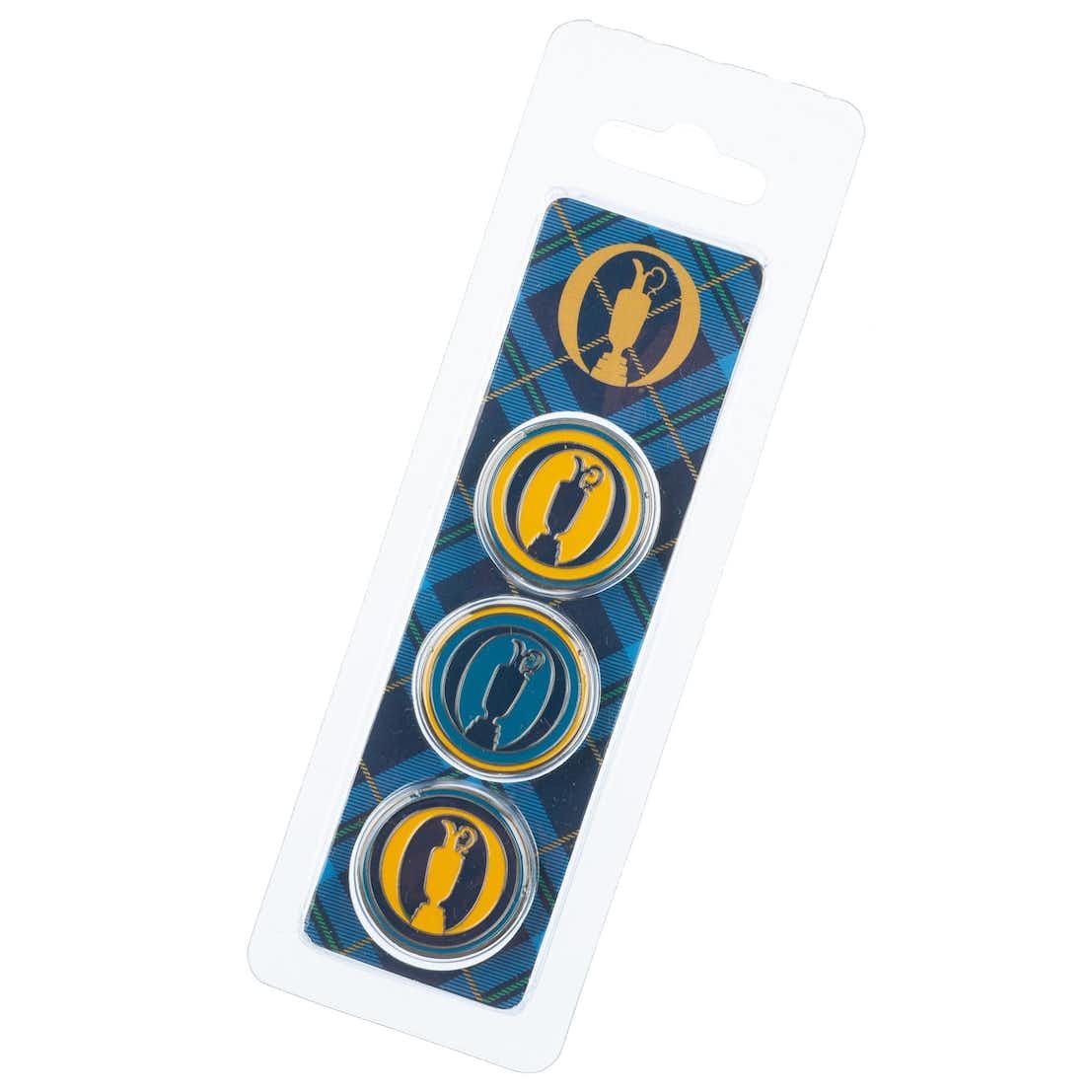 Tartan Collection Three-Ball Marker Gift Pack - Tartan