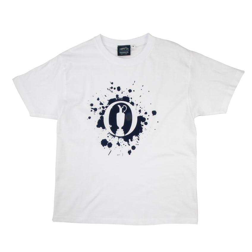The Open Children's T-Shirt - White 0