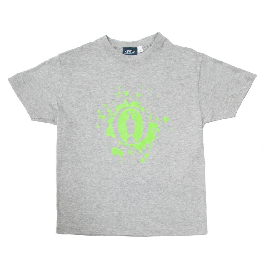 The Open Children's T-Shirt - Grey 0