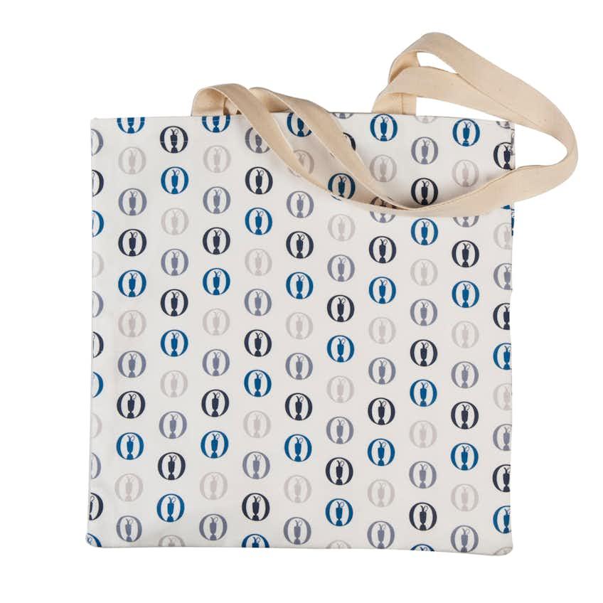 The Open Canvas Shopper Bag - White