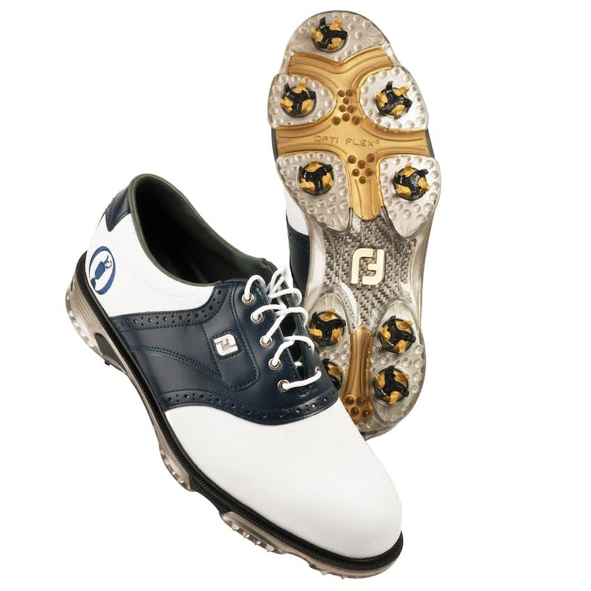 The Open FootJoy Golf Shoes (Wide Fit) - White