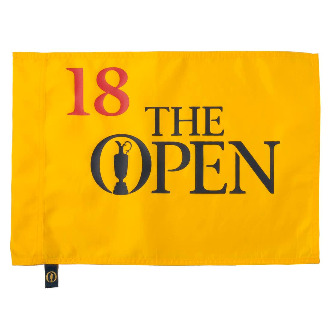 The Open Official Pin Flag - Yellow