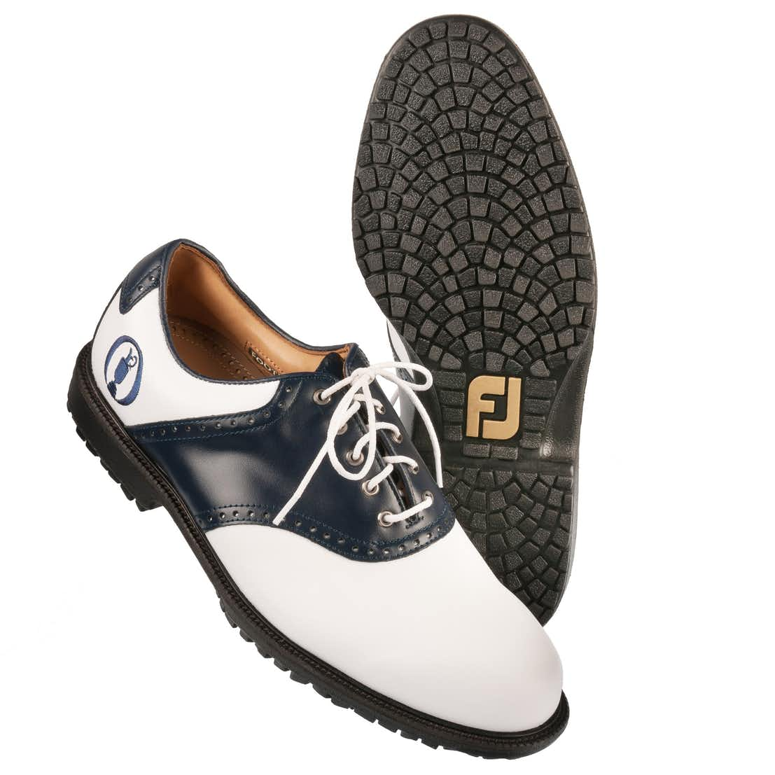 The Open FootJoy Golf Shoes - White