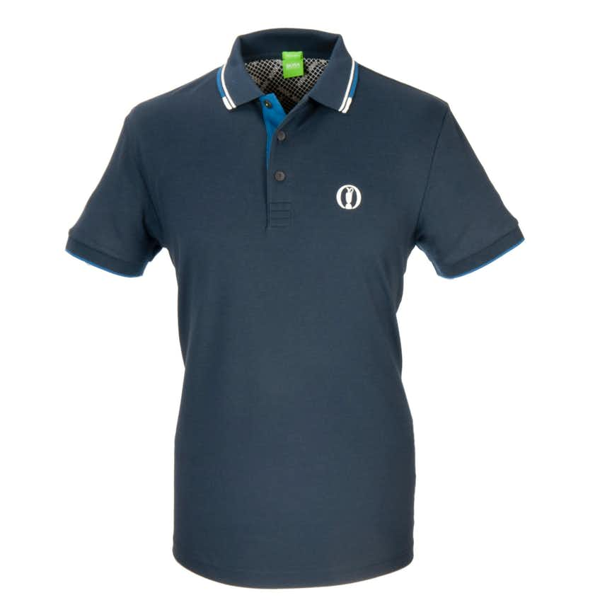 The Open BOSS Paddy Pro Plain Polo - Blue