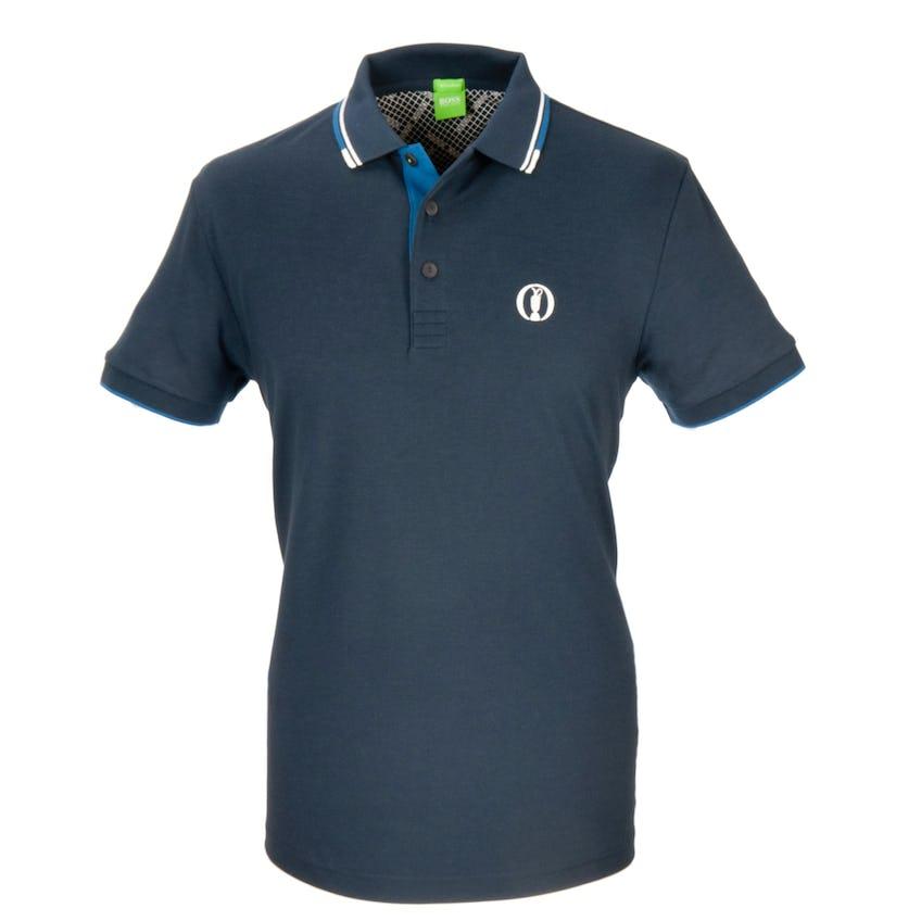 The Open BOSS Paddy Pro Plain Polo - Blue 0
