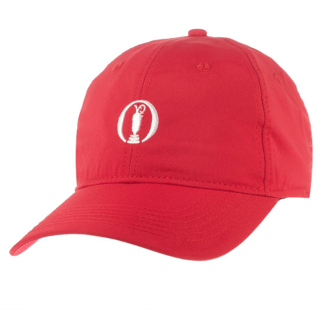 The Open Baseball Cap - Red