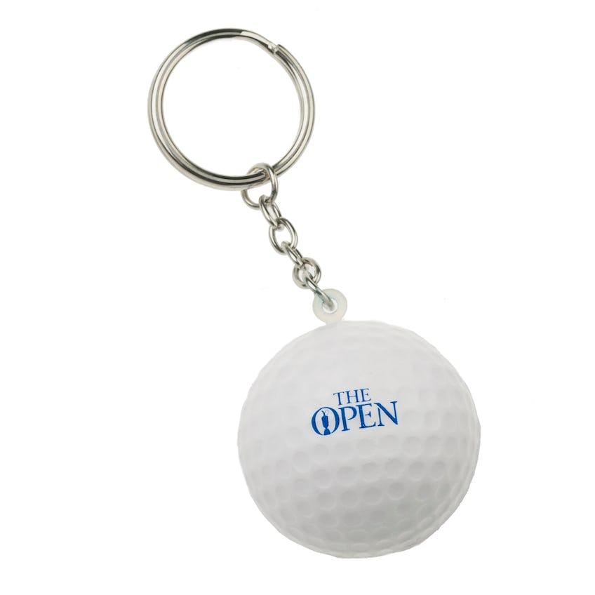 The Open Golf Ball Keyring - White 0