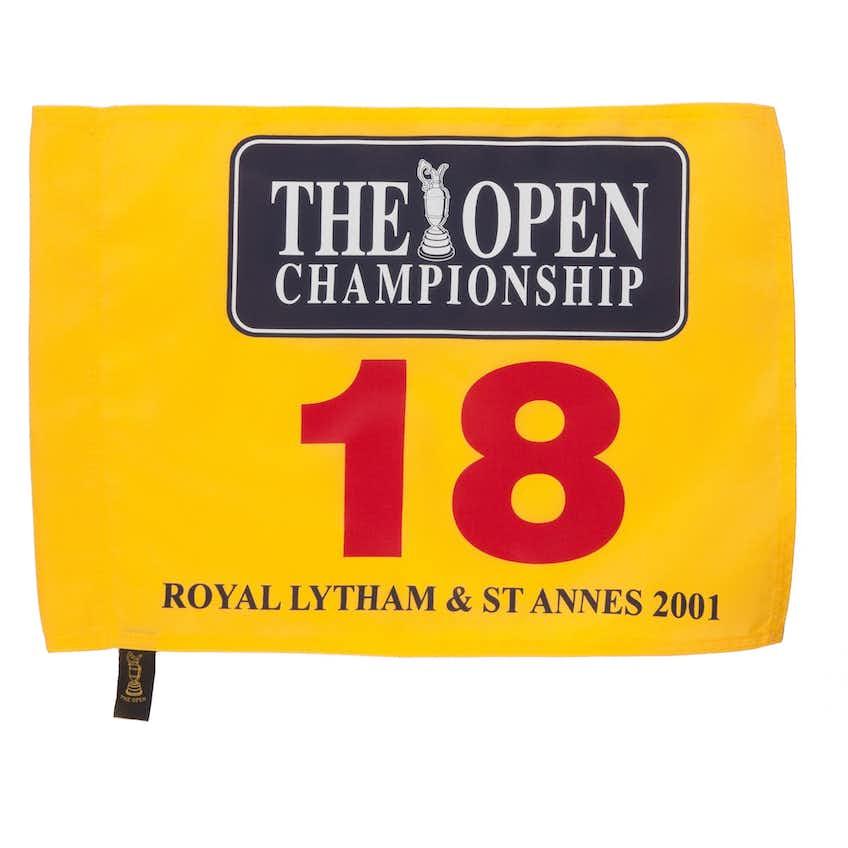 130th Royal Lytham & St Annes Open Pin Flag - Yellow