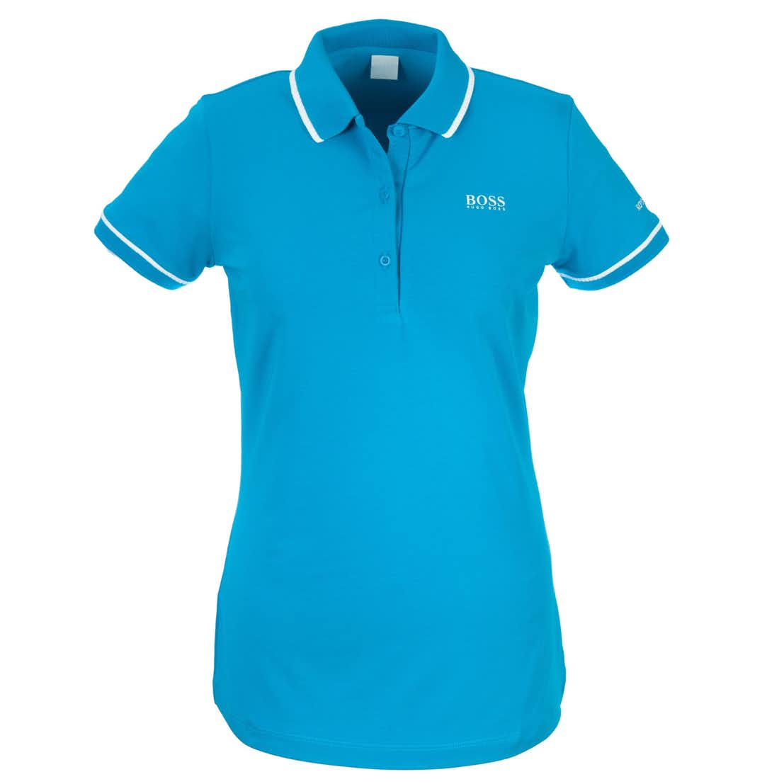 148th Royal Portrush BOSS Plain Polo - Blue