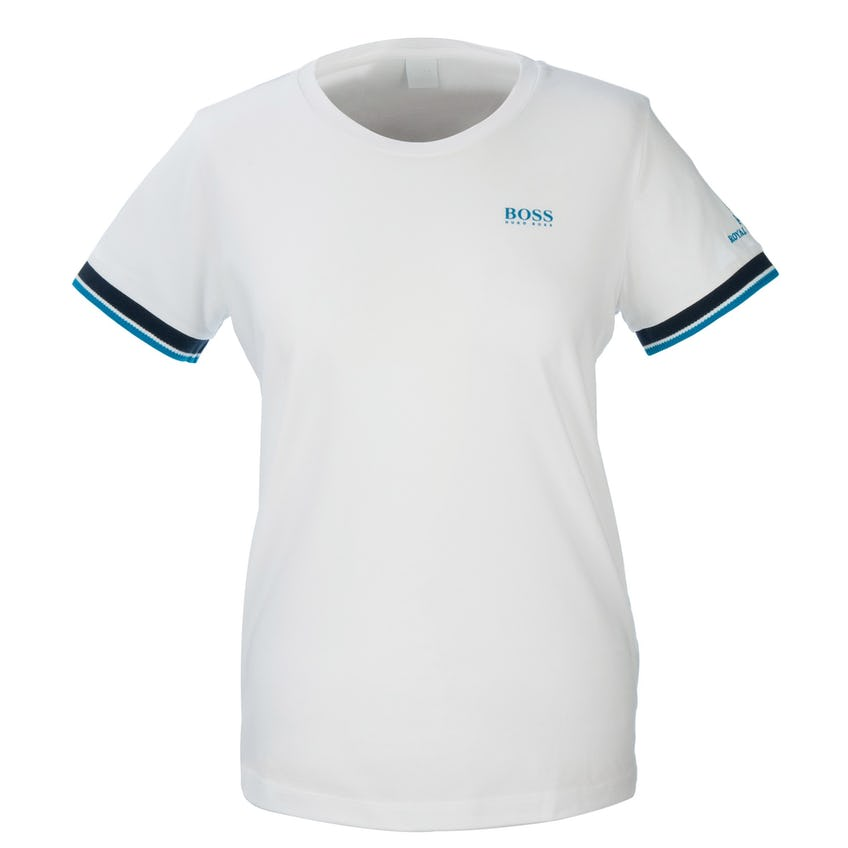 148th Royal Portrush BOSS Crew-Neck T-Shirt - White 0