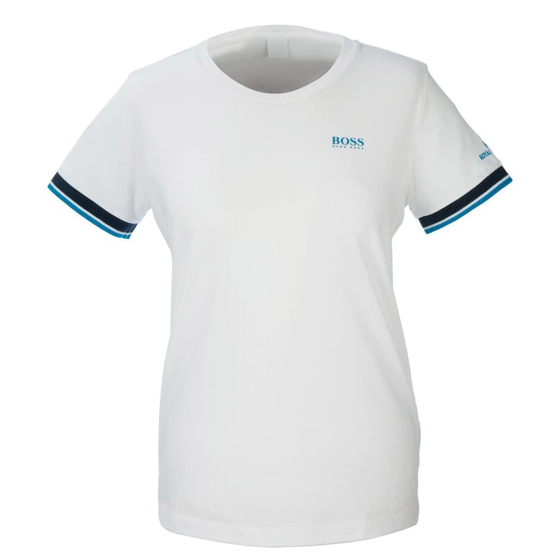 148th Royal Portrush BOSS Crew-Neck T-Shirt - White