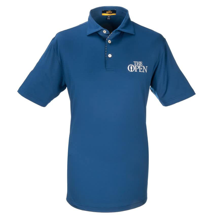 The Open Plain Polo - Blue