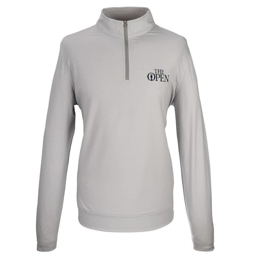 The Open 1/4-Zip Layer Sweater - Grey