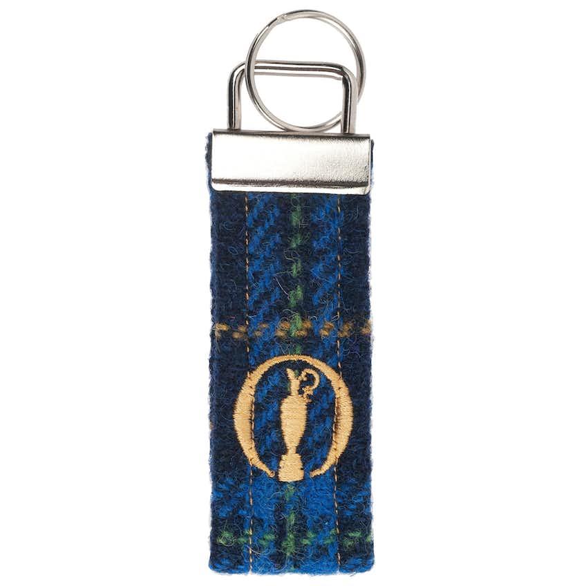 The Open Tweed Keyring - Tartan