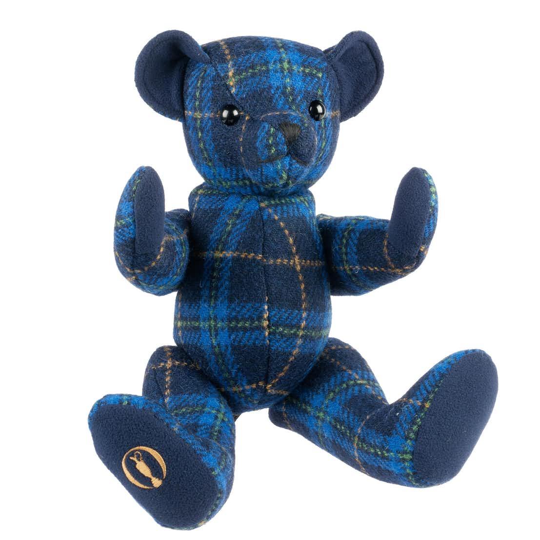 "The Open Teddy Bear (14"") - Tartan"