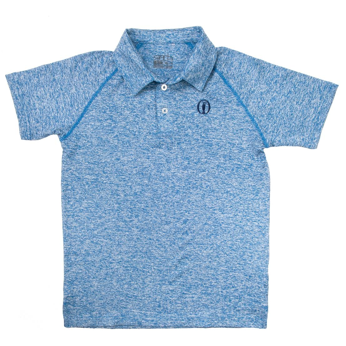 The Open Children's Plain Polo - Blue