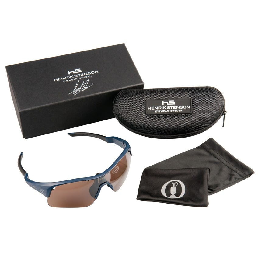 Henrik Stenson Eyewear Limited-Edition Sunglasses - Blue 0