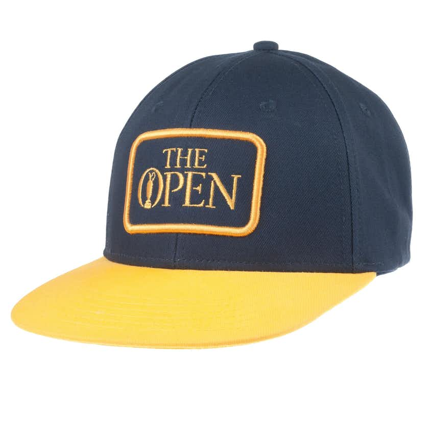 The Open Baseball Cap - Blue