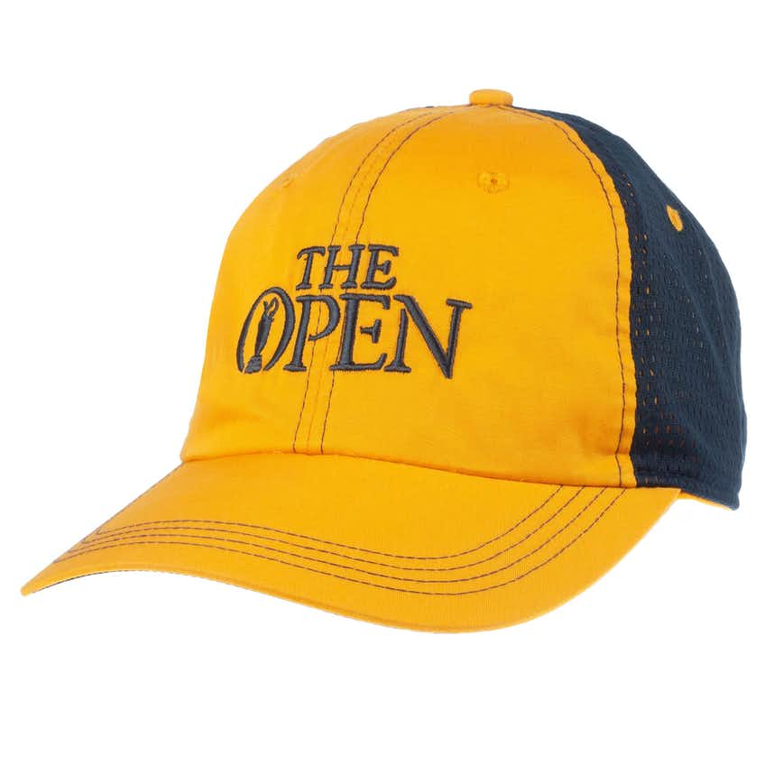 The Open Baseball Cap - Yellow