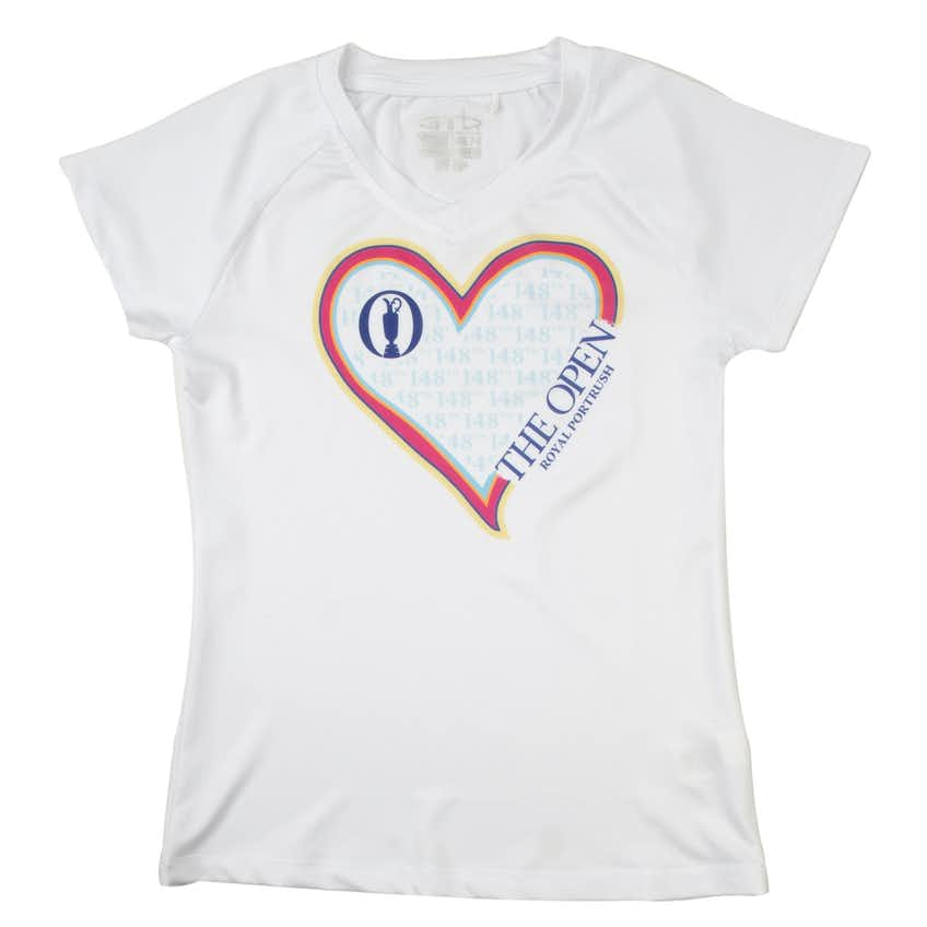 148th Royal Portrush Children's T-Shirt - White