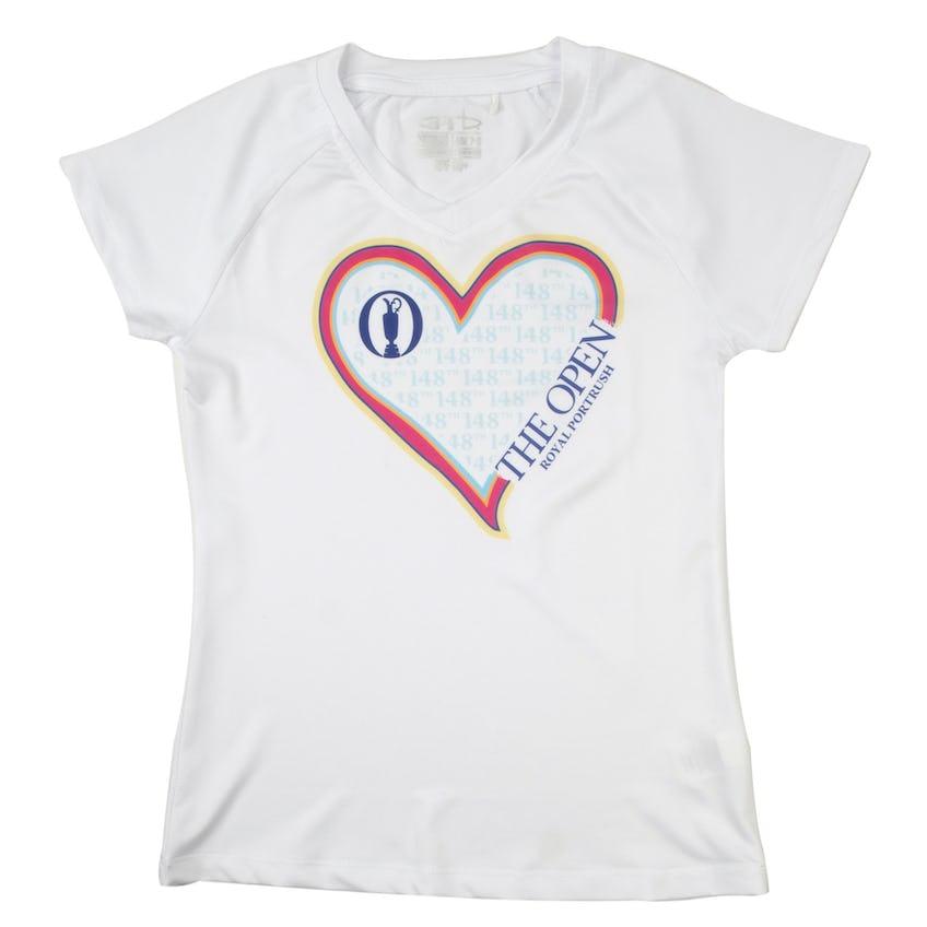 148th Royal Portrush Children's T-Shirt - White 0