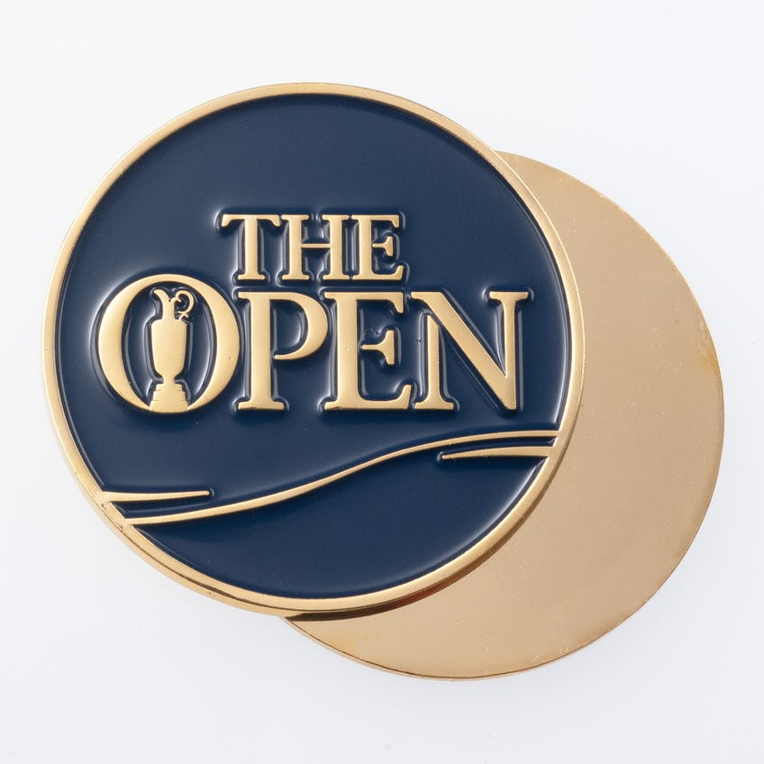 The Open Metal Collector's Coin - Blue and Gold 0