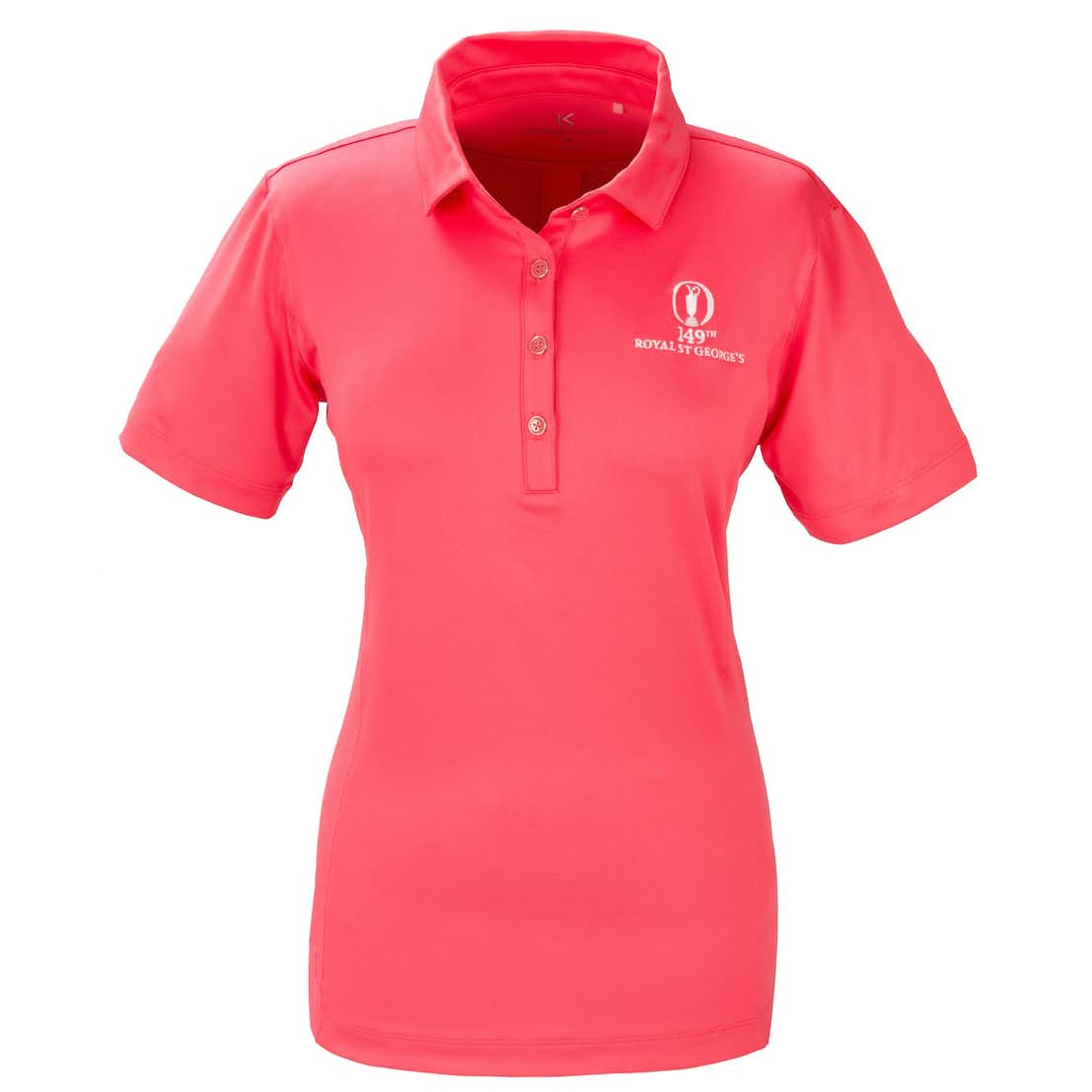 149th Royal St George's Kate Lord Plain Polo - Pink